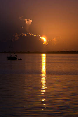 Sunrise Over The Intracoastal Poster by Kristin Smith