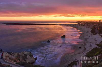 Sunset At Inspiration Point Poster by Eddie Yerkish
