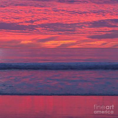 Sunset Colors Poster by Ana V Ramirez