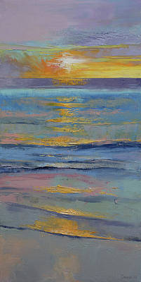 Sunset Poster by Michael Creese
