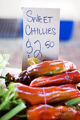 Super Sweet Chillies Poster by Jorgo Photography - Wall Art Gallery