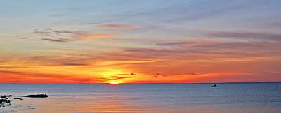 Superior Sunrise Poster by Bill Morgenstern