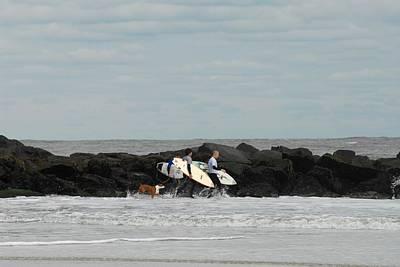 Surfing 40 Poster by Joyce StJames