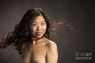 Suro Female Nude Fine Art Print Picture Or Photograph  4364.02 Poster by Kendree Miller