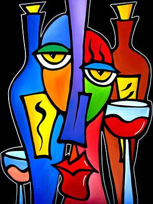 Surrounded - Original Pop Art By Fidostudio Poster by Tom Fedro - Fidostudio