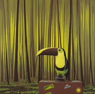 Suspenders Poster by Jasper Oostland