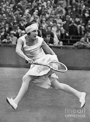 Suzanne Lenglen (1899-1938) Poster by Granger