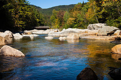 Swift River View Poster by Sue OConnor