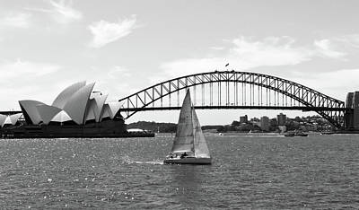 Sydney Harbour No. 1-1 Poster by Sandy Taylor