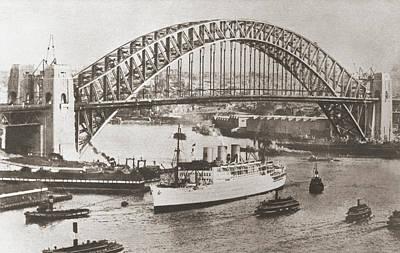 Sydney Harbour Bridge, Sydney Poster by Vintage Design Pics