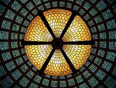 Symmetric Lights Poster by Matt Cangelosi