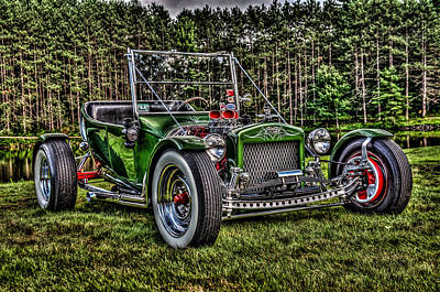 T- Bucket Poster by High Octane Image