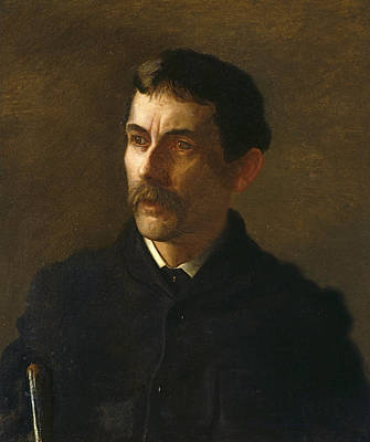 Talcott Williams Poster by Thomas Eakins