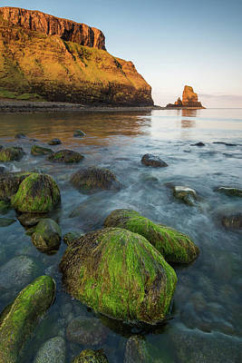 Talisker Beach Sunrise Poster by Davorin Mance