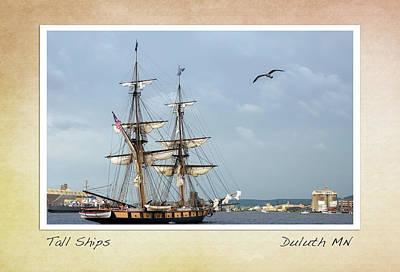Tall Ships V3 Poster by Heidi Hermes