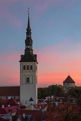 Tallinn 05 Poster by Tom Uhlenberg
