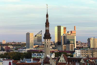 Tallinn 06 Poster by Tom Uhlenberg