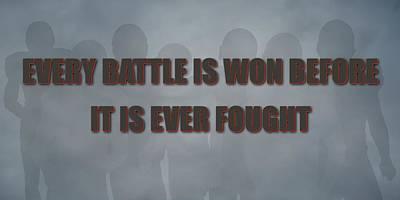 Tampa Bay Buccaneers Battle Poster by Joe Hamilton