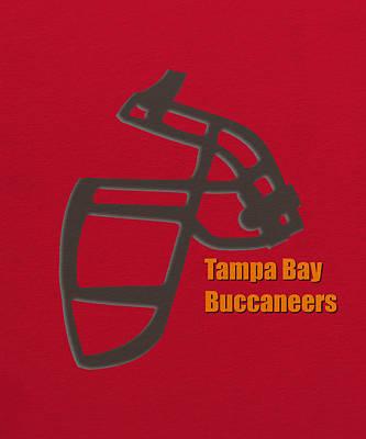 Tampa Bay Buccaneers Retro Poster by Joe Hamilton