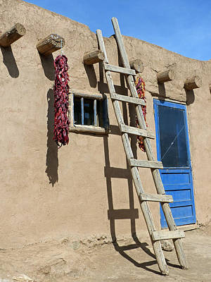 Taos Pueblo 58 Poster by Jeff Brunton