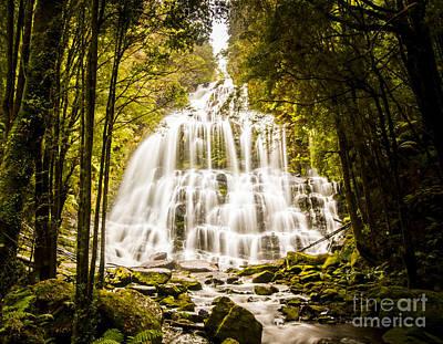Tasmanian Waterfalls Poster by Jorgo Photography - Wall Art Gallery