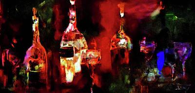 Taste Of Wine Poster by Lisa Kaiser