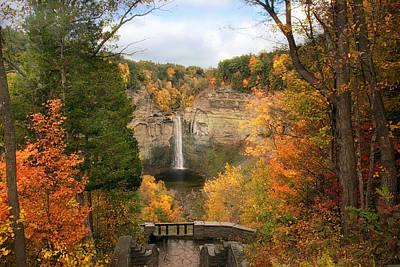 Taughannock Falls Splendor Poster by Jessica Jenney