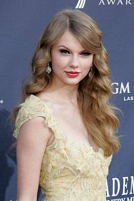 Taylor Swift At Arrivals For Academy Poster by Everett