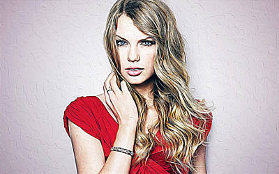Taylor Swift Poster by Queso Espinosa