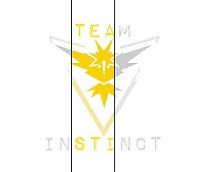 Team Instinct Poster by Marianna Mills