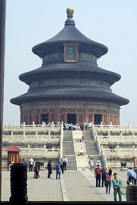 Temple Of Heaven Poster by Charles  Ridgway