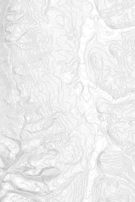 Tenmile Range Near Breckenridge Colorado Contours In Black Poster by Jurq Studio