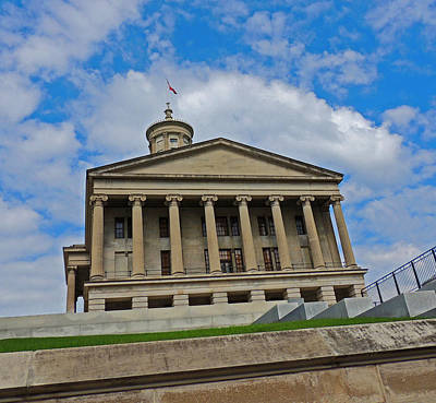 Tennessee State Capitol Building Poster by Marian Bell