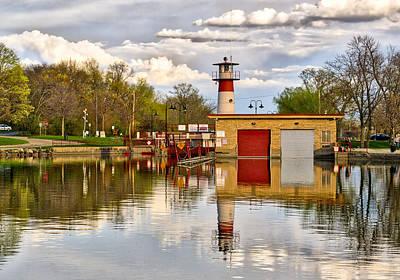 Tenney Lock - Madison - Wisconsin Poster by Steven Ralser