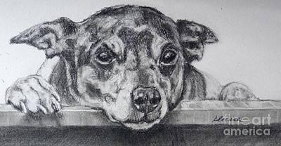 Terrier Attitude Poster by Susan A Becker