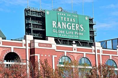 Texas Rangers Poster by Frozen in Time Fine Art Photography