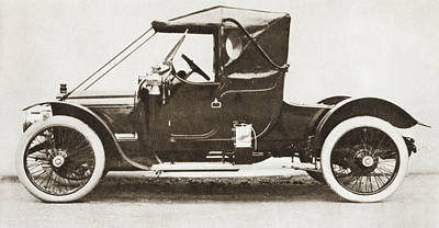 The 1910 Austin Ascot Car. From The Poster by Vintage Design Pics