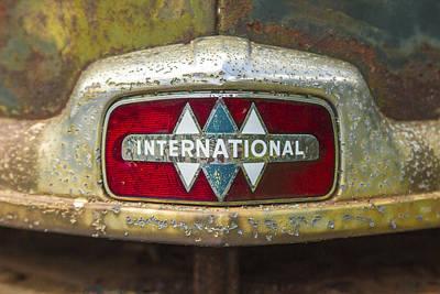 The 1947 International Emblem Ihc Trucks Poster by Reid Callaway