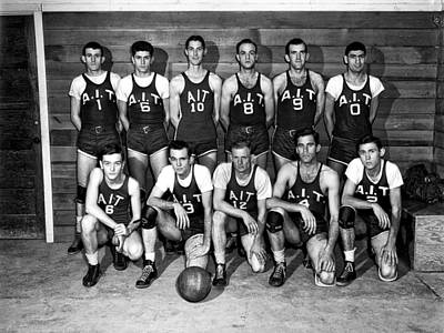 The A I T Oak Ridge Tennessee Basketball Team 1947 Poster by Mountain Dreams