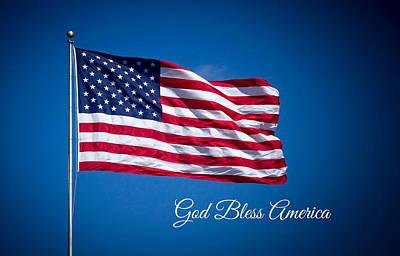 The American Flag Art 3 Poster by Reid Callaway