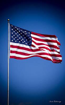 The American Flag Art 4 Poster by Reid Callaway