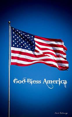 The American Flag Art 9 Poster by Reid Callaway