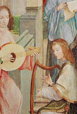 The Annunciation Poster by Taborda Vlame Frey Carlos