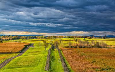 The Antietam Battlefield Poster by John Bailey