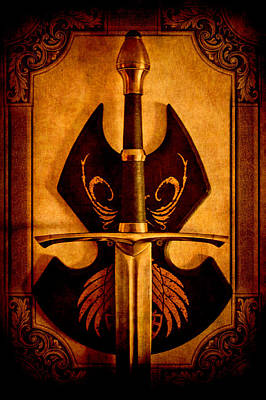 The Art Of War - Eternal Portrait Of A Warrior Poster by Loriental Photography