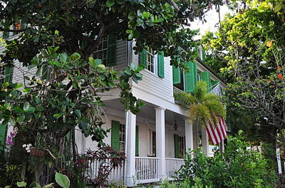 The Audubon House - Key West Florida Poster by Bill Cannon