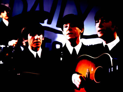 The Beatles 02b Poster by Brian Reaves
