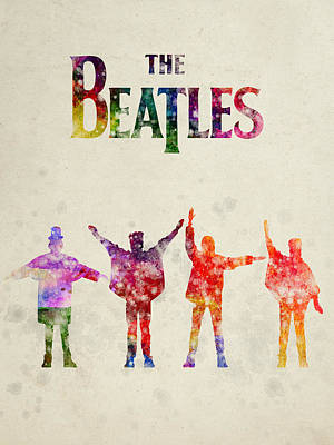 The Beatles - Help Poster by Aged Pixel