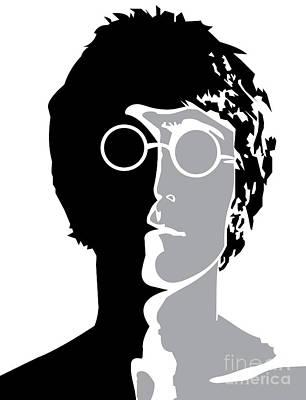 The Beatles No.08 Poster by Caio Caldas