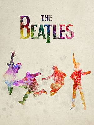 The Beatles - Twist And Shout Poster by Aged Pixel